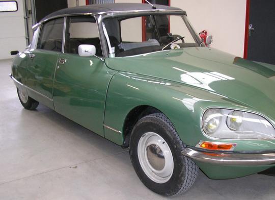 Rénovation de voitures anciennes et de collection